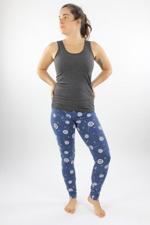 Leggings blau mit Pusteblumen