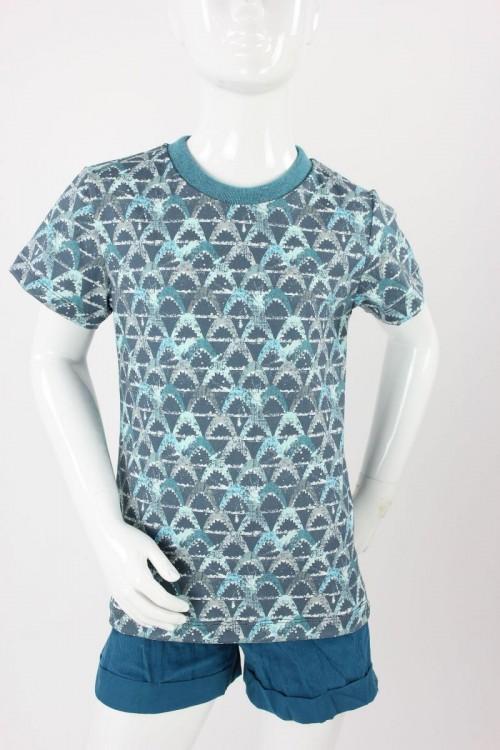 Kinder-T-Shirt mit Haien