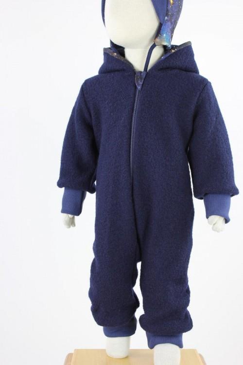 Kinder-Wollanzug BLUE GALAXY