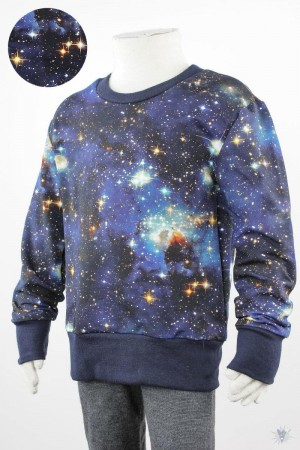 Kinder-Longsleeve BLUE GALAXY