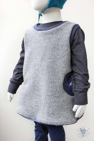 Kinder-Wollkleid 122/128