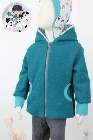 Kinder-Wolljacke