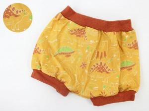 Höschen gelb mit Dinos