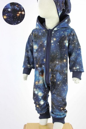 Softshellanzug Blue Galaxy